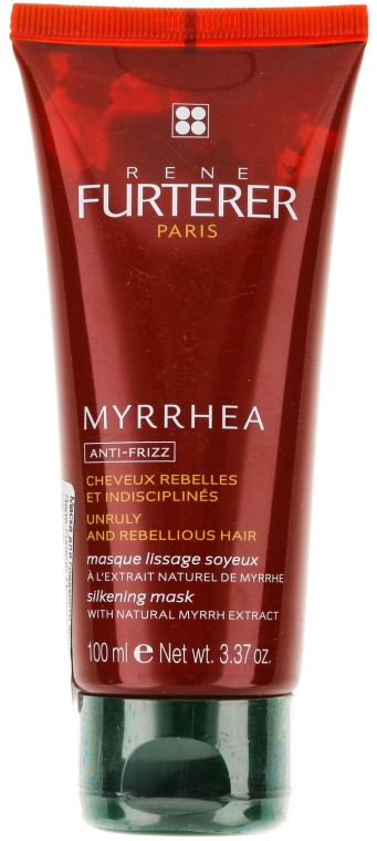 Маска для гладкости волос - Rene Furterer Myrrhea Anti-Frizz Silkening Mask