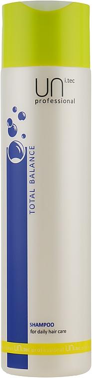 Шампунь для ежедневного использования - UNi.tec Professional Total Balance Shampoo