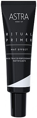 Матирующая база под макияж - Astra Make-Up Ritual Primer Mat Effect