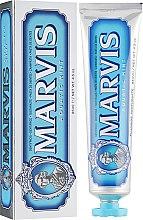 Духи, Парфюмерия, косметика Зубная паста Морская Мята - Marvis Aquatic Mint