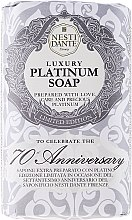 """Духи, Парфюмерия, косметика Мыло """"Платиновое"""" - Nesti Dante Luxury Platinum Soap 70th Anniversary"""