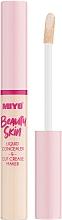 Духи, Парфюмерия, косметика Жидкий консилер для лица - Miyo Beauty Skin Liquid Concealer & Cut Crease Maker