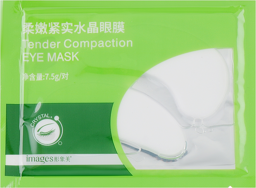 Патчи под глаза с водорослями - Bioaqua Images Tender Compaction Eye Mask