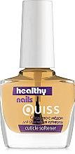 Парфумерія, косметика Засіб для пом'якшення кутикули, з медом - Quiss Healthy Nails №1 Cuticle Softener