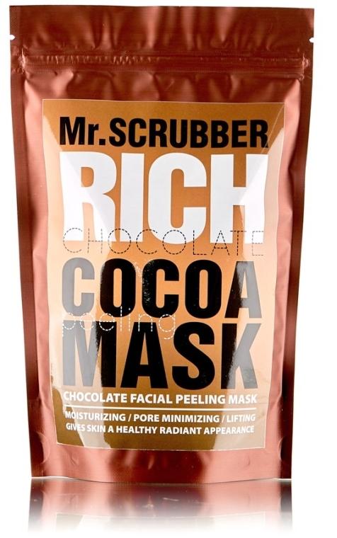 Шоколадная маска-пилинг для лица - Mr.Scrubber Chocolate Mask-Peeling