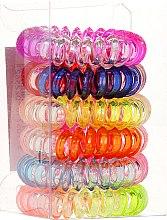 Резинки для волос Wire 6 шт, 22562 - Top Choice — фото N2