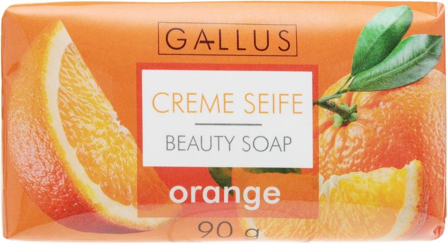 """Косметическое мыло """"Апельсин"""" - Gallus Beauty Soap"""