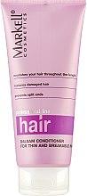 Духи, Парфюмерия, косметика Бальзам-ополаскиватель для тонких и ломких волос - Markell Cosmetics Professional Hair Line