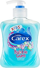 Духи, Парфюмерия, косметика Жидкое мыло антибактериальное - Carex Bubble Gum Hand Wash