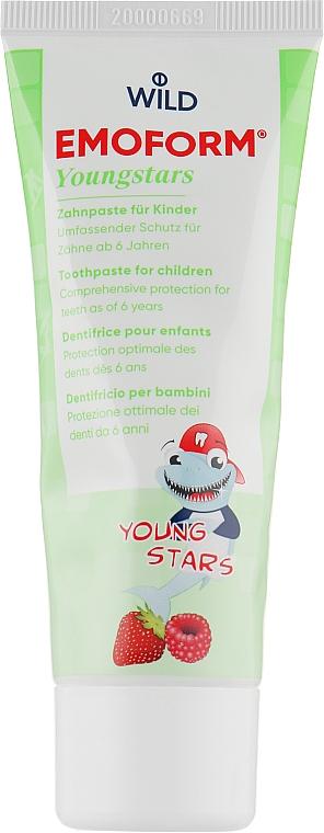Зубная паста - Dr. Wild Emoform Actifluor Youngstars
