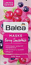 """Духи, Парфюмерия, косметика Маска для лица антиоксидантная """"Ягодный смузи"""" - Balea Antioxidant Face Mask Berry Smoothie"""
