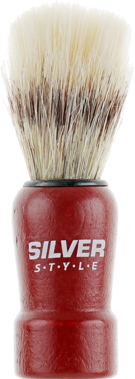 Помазок для бритья, SPM-24 С, коричневый - Silver Style