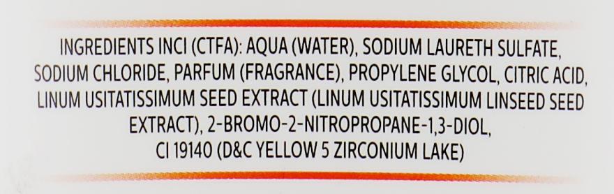 Деликатный шампунь для любого типа волос с экстрактом семян льна - Parisienne Italia Lin Exance Shampoo — фото N3