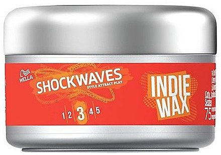 Воск для укладки волос - Wella Pro ShockWaves Indie Wax