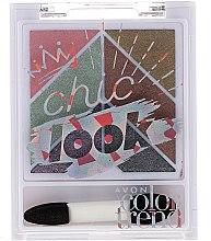 Духи, Парфюмерия, косметика Пателка теней для век - Avon Color Trend Chic Look Eyeshadow Palette