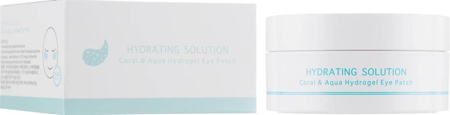 Гидрогелевые патчи для кожи вокруг глаз - BeauuGreen Coral & Aqua Hydrogel Eye Patch