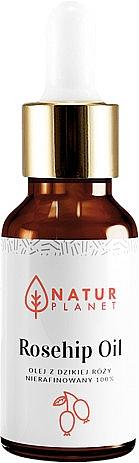 Масло шиповника - Natur Planet Rosehip Oil