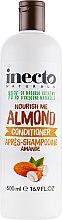 Духи, Парфюмерия, косметика Кондиционер для волос, с маслом миндаля - Inecto Naturals Almond Conditioner