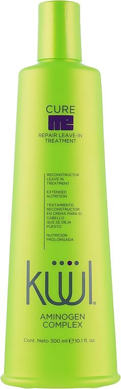 Несмываемый кондиционер для поврежденных волос - Kuul Cure Me Repair Me Leave In Treatment