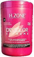 Духи, Парфюмерия, косметика Обесцвечивающий порошок для волос - H.Zone Decolor Extreme