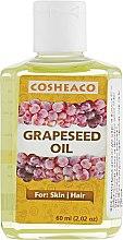Духи, Парфюмерия, косметика Масло виноградных косточек для тела и волос - Cosheaco Grapeseed Oil