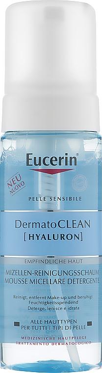 Мицеллярная очищающая пенка - Eucerin DermatoClean