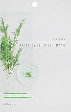 Духи, Парфюмерия, косметика Тканевая маска для лица с чайным деревом - Eunyul Daily Care Mask Sheet Tea Tree