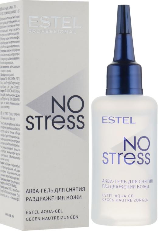 Аква-гель для снятия раздражения с кожи - Estel Professional No Stress