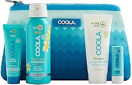 Духи, Парфюмерия, косметика Набор - Coola Classic Travel Kit(spray/60ml+f/cr/25ml+balm/4,2g+lotion/60ml)