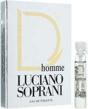 Духи, Парфюмерия, косметика Luciano Soprani D Homme - Туалетная вода (пробник)