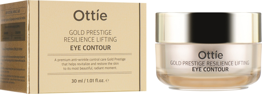 Крем для кожи вокруг глаз - Ottie Gold Prestige Resilience Lifting Eye Contour
