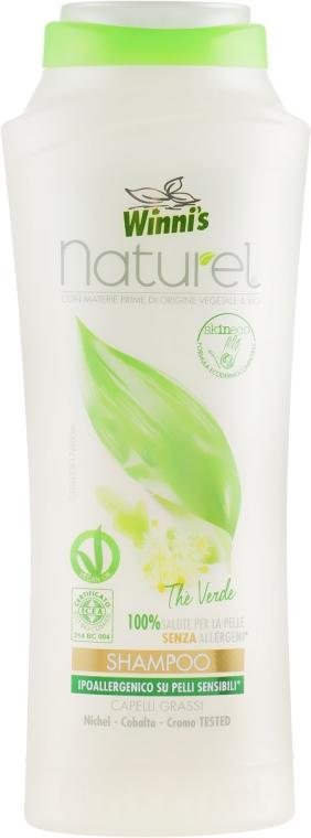 Шампунь для жирных волос - Winni's Naturel The Verde Shampoo