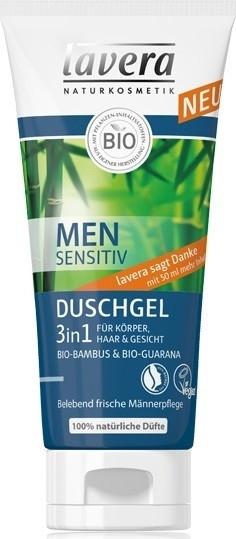Гель для душа 3в1 - Lavera Men Sensitiv Shower Gel 3 in 1