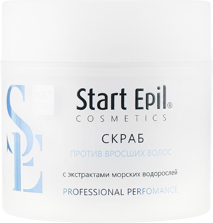 Скраб против вросших волос с экстрактами морских водорослей - Aravia Professional Start Epil