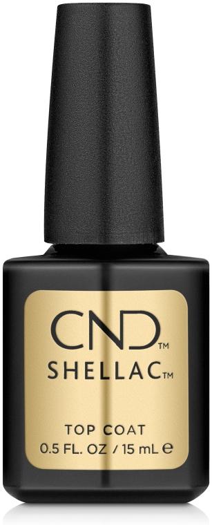 Верхнее покрытие для ногтей - CND Shellac Top Coat