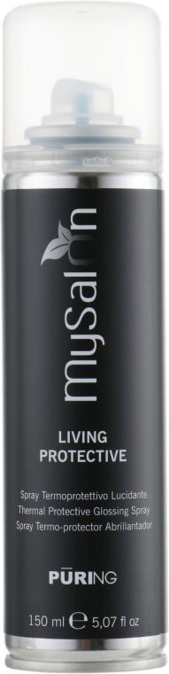 Защитный спрей для волос от воздействия высоких температур - Puring MySalon Living Protective Definition Spray