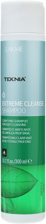 Шампунь для глубокого очищения волос - Lakme Teknia Extreme Cleanse Shampoo