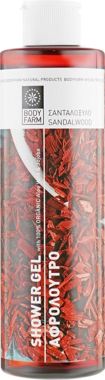 """Гель для душа """"Сандаловое дерево"""" - Bodyfarm Shower Gel Sandal Tree"""