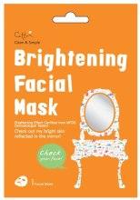 Духи, Парфюмерия, косметика Тканевая освежающая маска для лица - Cettua Brightening Facial Mask
