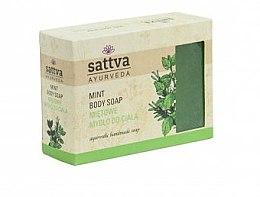 Духи, Парфюмерия, косметика Мыло - Sattva Hand Made Soap Mint