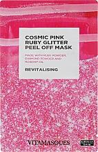 """Духи, Парфюмерия, косметика Пилинг-маска для лица """"Космический розово-рубиновый"""" - Vitamasques Cosmic Pink Ruby Glitter Peel Off Mask"""