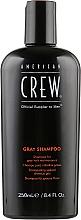 Духи, Парфюмерия, косметика Шампунь для седых волос - American Crew Gray Shampoo