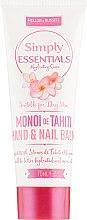 Духи, Парфюмерия, косметика Бальзам для рук и ногтей с маслом Моной для сухой кожи - Mellor & Russell Simply Essentials Monoi de Tahiti Hand & Nail Balm