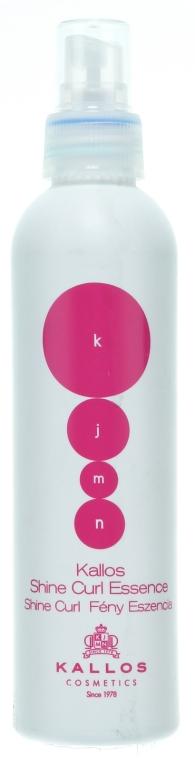 Спрей-эссенция для вьющихся волос - Kallos Cosmetics Shine Curl Essence