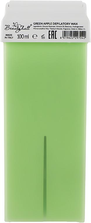 """Воск в кассете """"Зеленое яблоко"""" - Beautyhall Green Apple Depilatory Wax"""