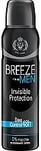 Духи, Парфюмерия, косметика Breeze Deo Invisible Protection - Дезодорант для тела
