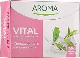 Духи, Парфюмерия, косметика Антибактериальное крем-мыло - Aroma Vital Cleansing Beauty Cream Soap