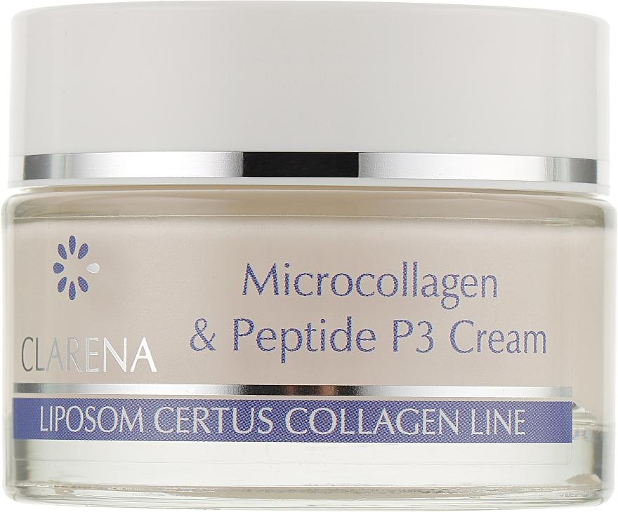 Крем с микроколлагеном и биомиметическим пептидом - Clarena Microcollagen & Peptide P3 Cream