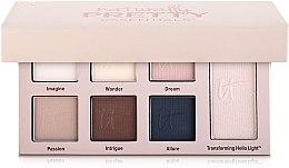 Духи, Парфюмерия, косметика Палетка теней - It Cosmetics Naturally Pretty Essentials Matte Luxe Transforming Eyeshadow Palette
