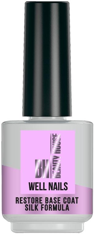 Средство по уходу за ногтями - Beauty House Well Nails Restore Base Coat Silk Formula